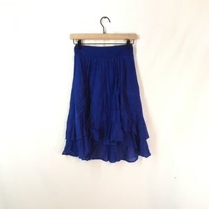 New HD in Paris Royal Blue Kalya Skirt